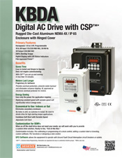 KBDA AC Drive Sales Sheet