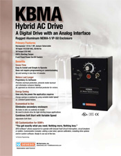 KBMA AC Drive Sales Sheet