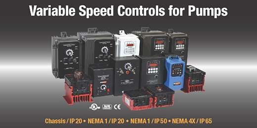 Variable Speed Controls for Pumps
