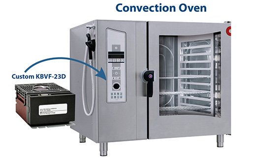 KBVF Series Variable Frequency Drive (VFD) for a Commercial Convection Oven